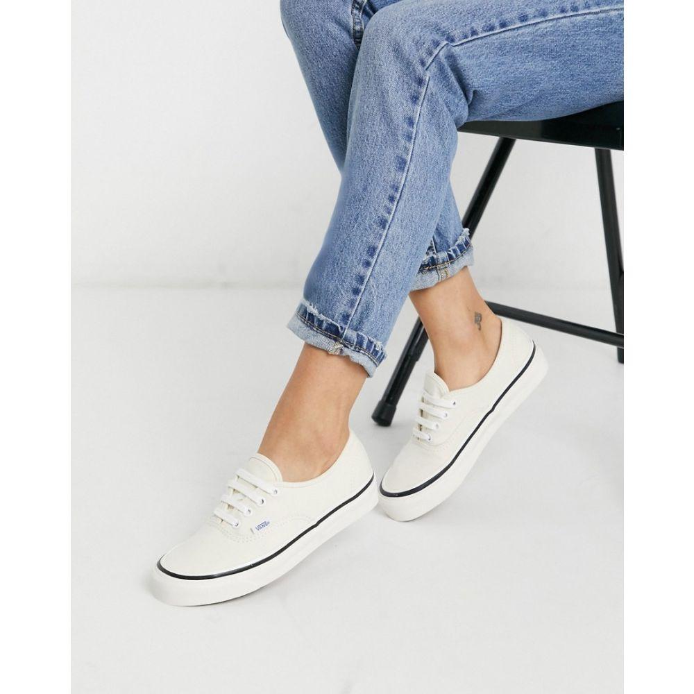 ヴァンズ Vans レディース スニーカー シューズ・靴【Anaheim Authentic 44 DX trainers in white】cl
