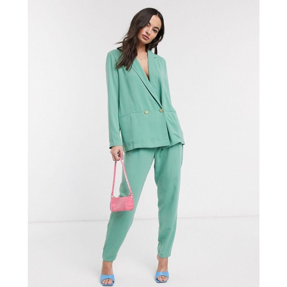 イチ Ichi レディース ボトムス・パンツ 【pastel suit trousers】Malachite green