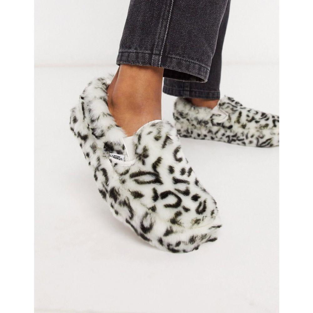 ヴァンズ Vans レディース スリッポン・フラット シューズ・靴【X Sandy Liang Classic Slip-On Cheetah Print Platform trainer in Multi】Iang paws/true white