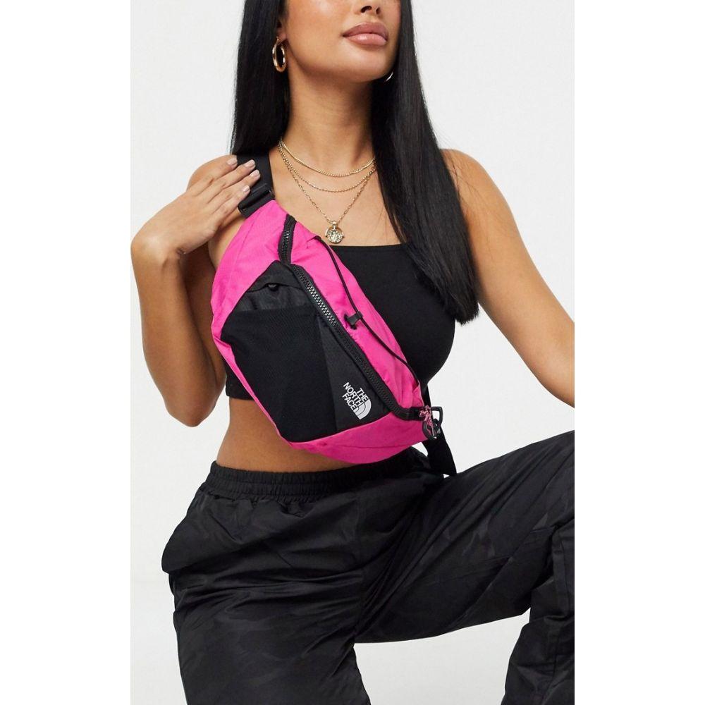 ザ ノースフェイス The North Face レディース ボディバッグ・ウエストポーチ バッグ【Lumbnical bum bag - S in pink】Mr pink tnf black