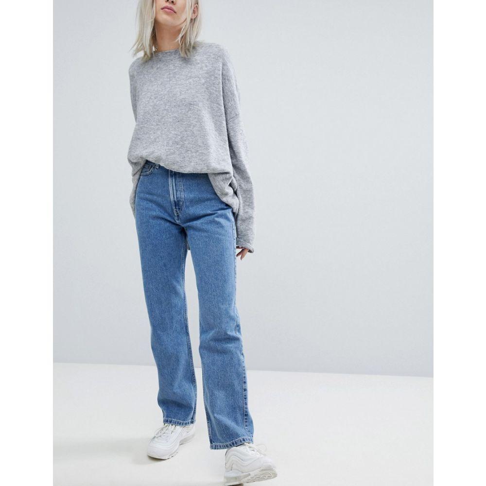 ウィークデイ Weekday レディース ジーンズ・デニム ボトムス・パンツ【Row Blue Jeans】Sky blue