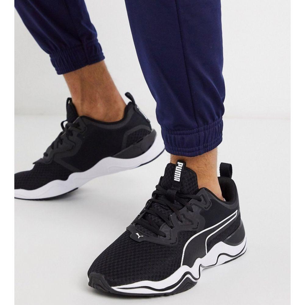 プーマ Puma メンズ フィットネス・トレーニング シューズ・靴【Training Zone XT trainers in black】Black