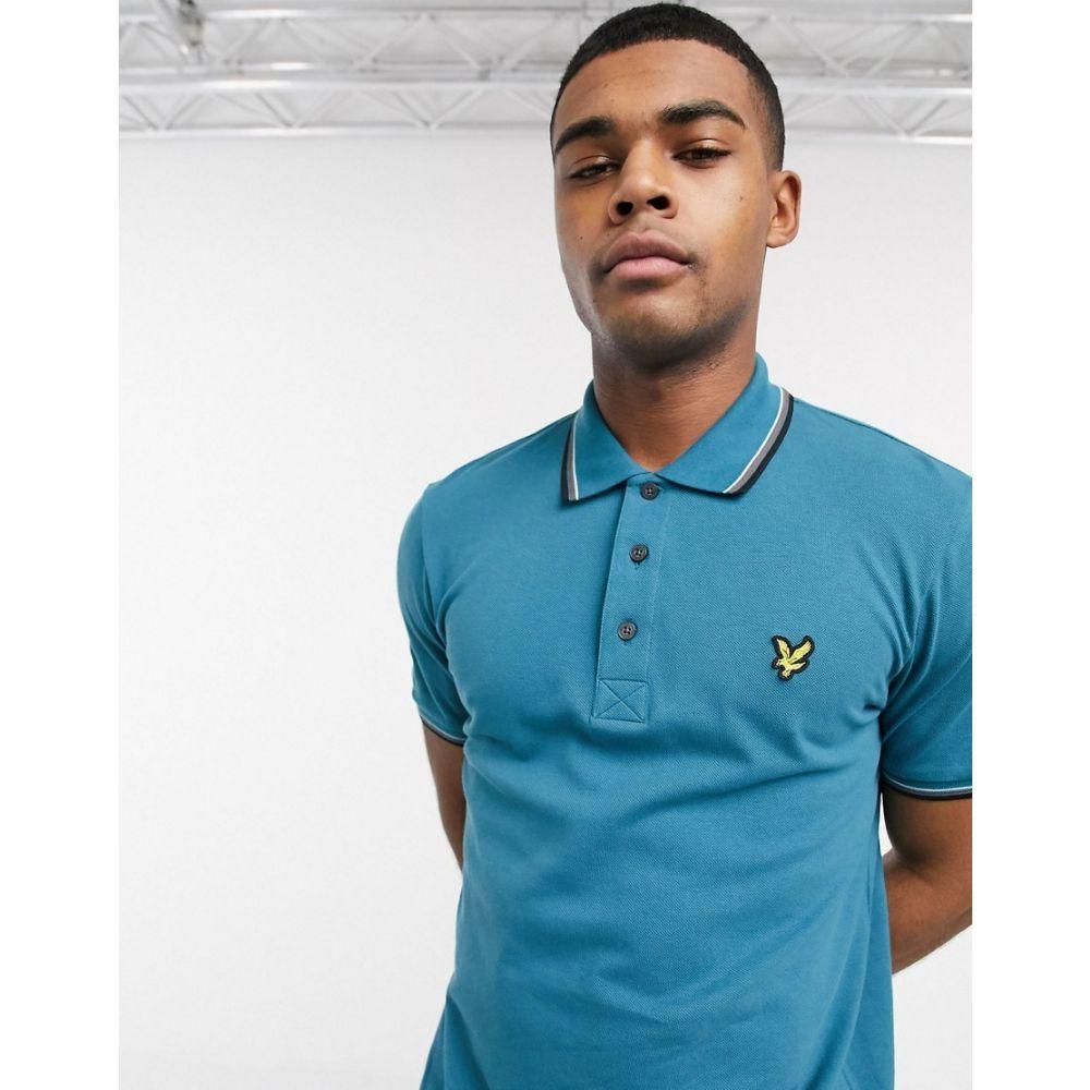 ライル アンド スコット Lyle & Scott メンズ ポロシャツ トップス【tipped polo shirt】Blue