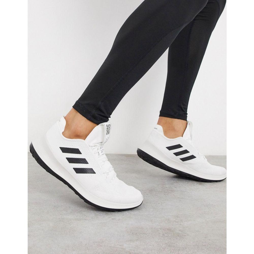 アディダス adidas performance メンズ ランニング・ウォーキング シューズ・靴【adidas Running sensebounce ace trainers in white】White