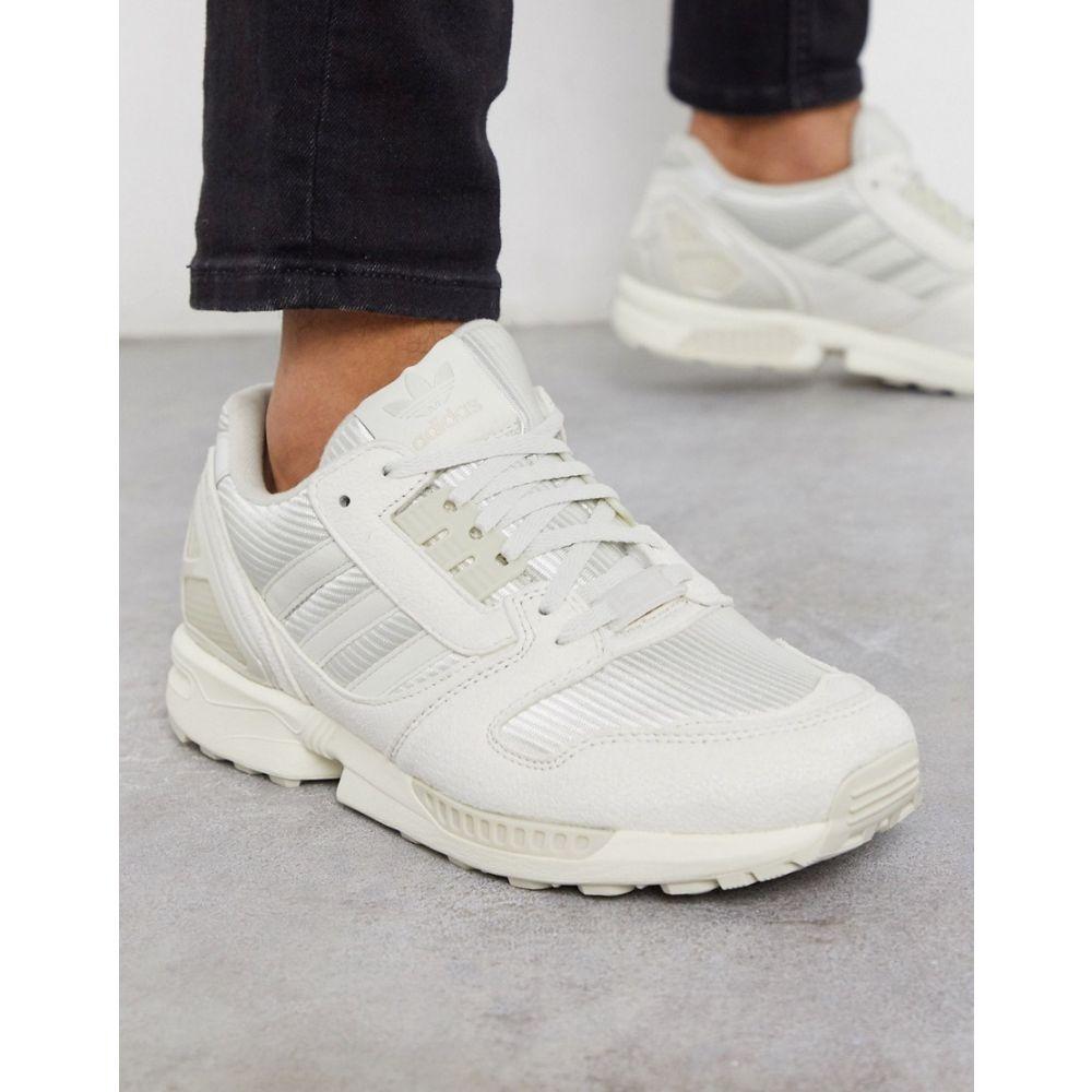 アディダス adidas Originals メンズ スニーカー シューズ・靴【ZX 8000 trainers in off white】Wh - white