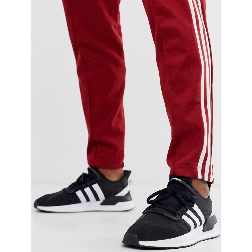 アディダス adidas Originals メンズ ランニング・ウォーキング シューズ・靴【U-Path Run trainers in black】Bk - black