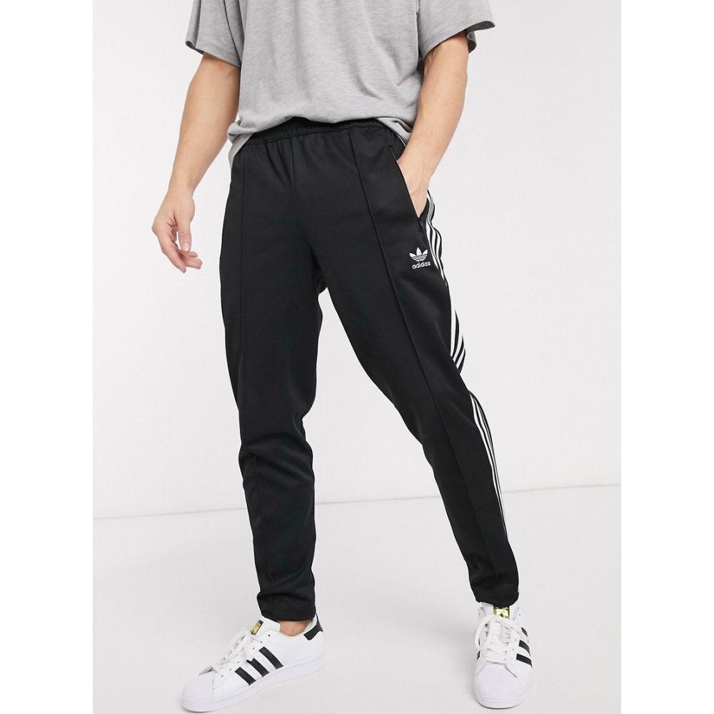 アディダス adidas Originals メンズ ジョガーパンツ ボトムス・パンツ【beckenbauer joggers in black】Bk - black