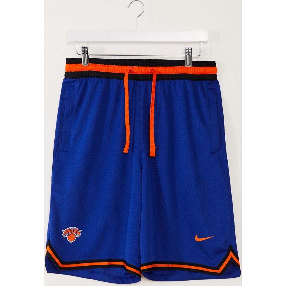 ナイキ Nike メンズ バスケットボール ショートパンツ ボトムス・パンツ【Basketball New York Knicks NBA shorts in blue】Blue