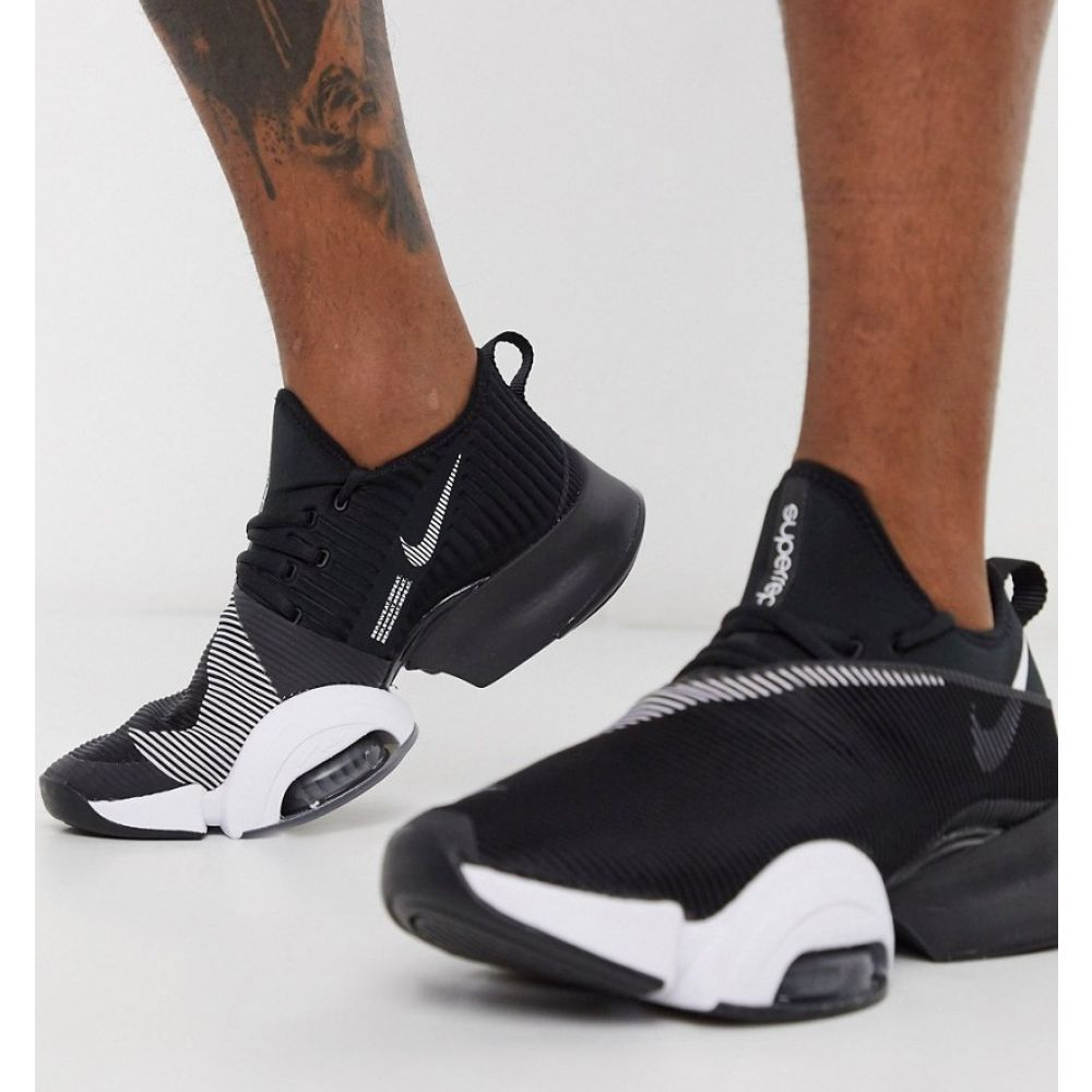 ナイキ Nike Training メンズ スニーカー エアズーム シューズ・靴【Air Zoom SuperRep trainers in black】Black