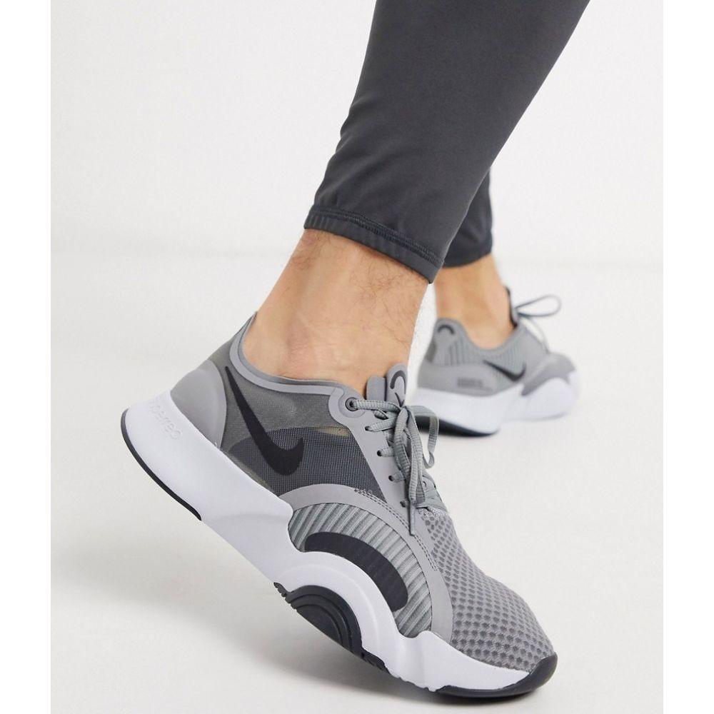 ナイキ Nike Training メンズ スニーカー シューズ・靴【SuperRep Go trainers in grey】Grey