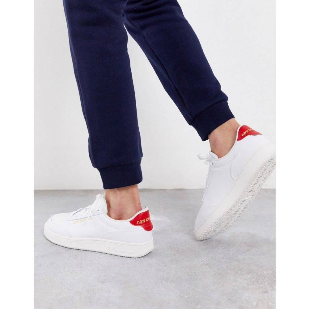 ニューバランス New Balance メンズ スニーカー シューズ・靴【CTALY trainers in white】White