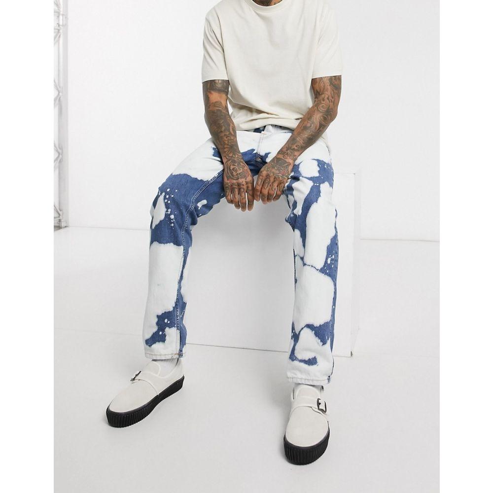 ヌーディージーンズ Nudie Jeans メンズ ジーンズ・デニム ボトムス・パンツ【Co Steady Eddie II regular tapered fit jeans in tie dye】Blue