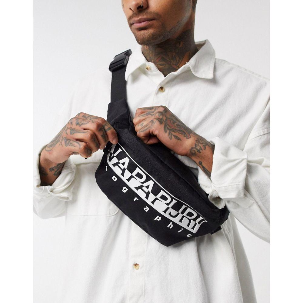 ナパピリ Napapijri メンズ ボディバッグ・ウエストポーチ バッグ【Happy bum bag in black】Black