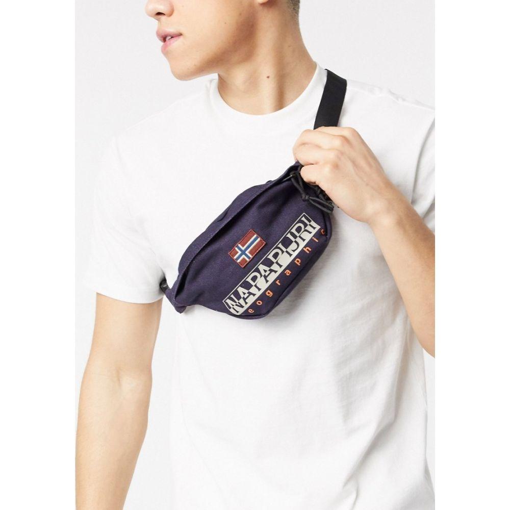 ナパピリ Napapijri メンズ ボディバッグ・ウエストポーチ バッグ【Hering bum bag in blue】Blu marine