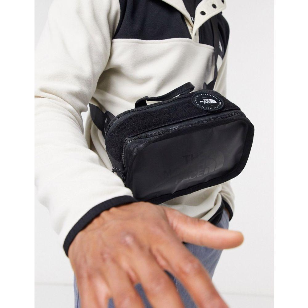 ザ ノースフェイス The North Face メンズ ボディバッグ・ウエストポーチ バッグ【Explore BLT small bum bag in black】Tnf black/tnf black