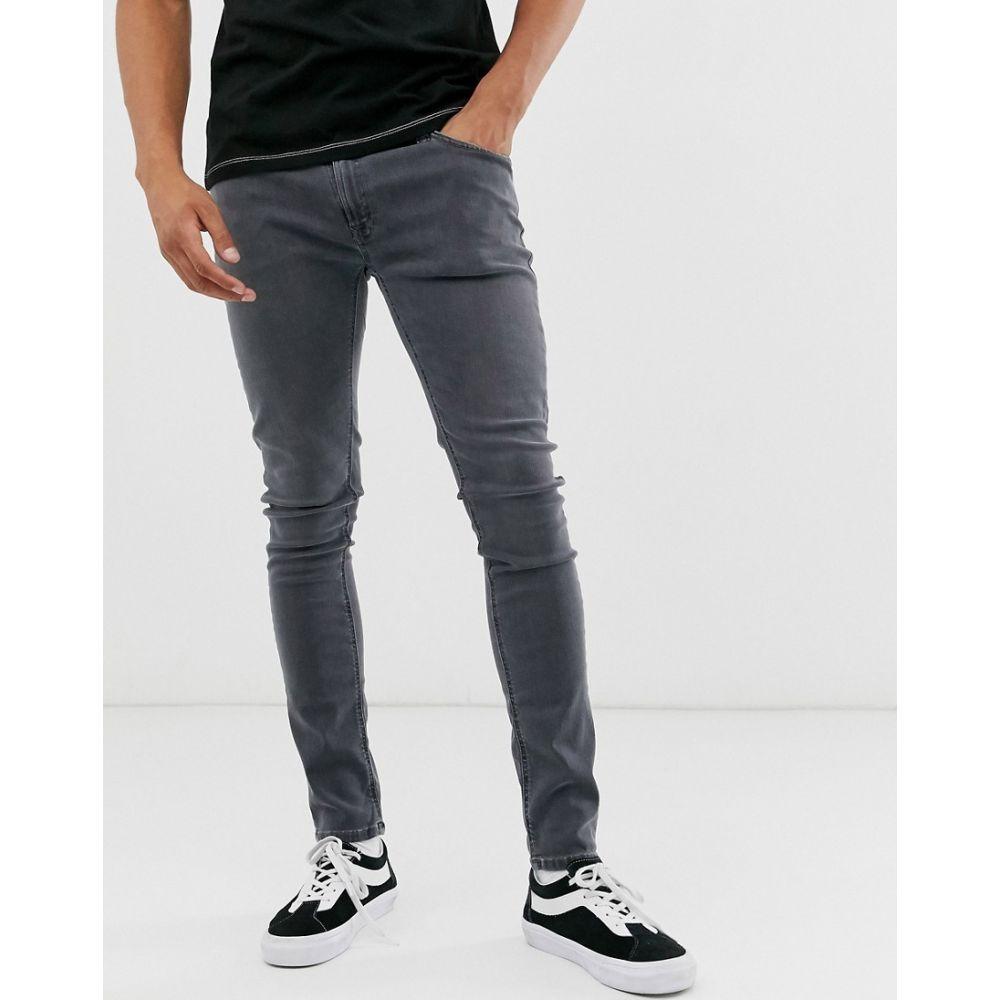 ヌーディージーンズ Nudie Jeans メンズ ジーンズ・デニム ボトムス・パンツ【Co Skinny Lin skinny fit jeans in concrete grey wash】Grey