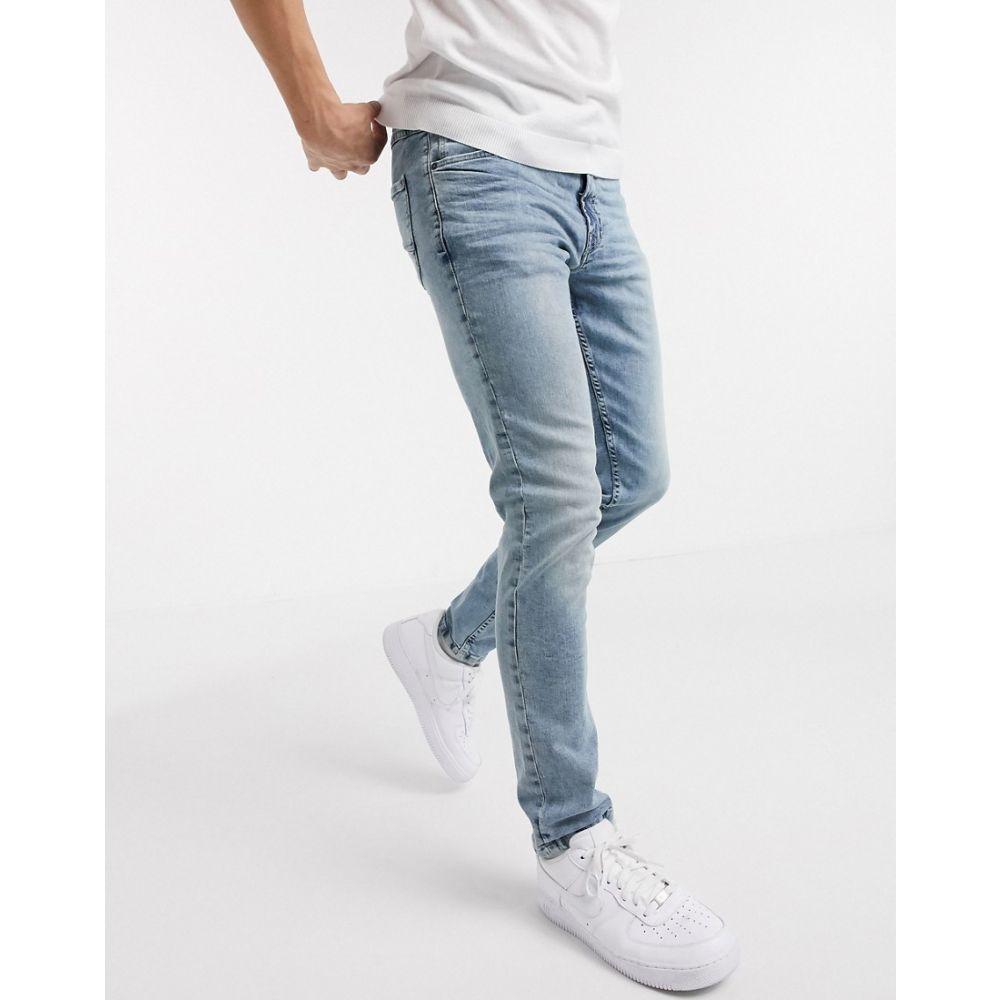 ソリッド Solid メンズ ジーンズ・デニム ボトムス・パンツ【slim fit jeans in blue】Blue