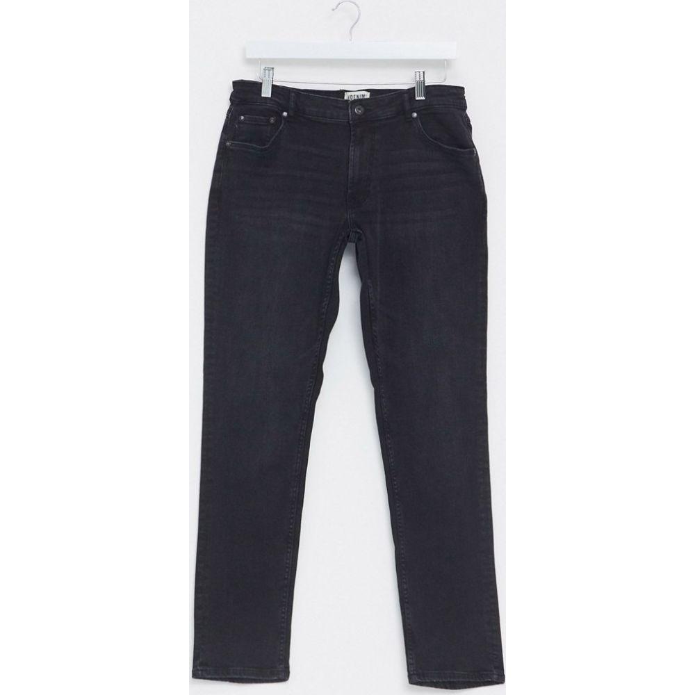 ソリッド Solid メンズ ジーンズ・デニム ボトムス・パンツ【slim fit jeans in black】Black