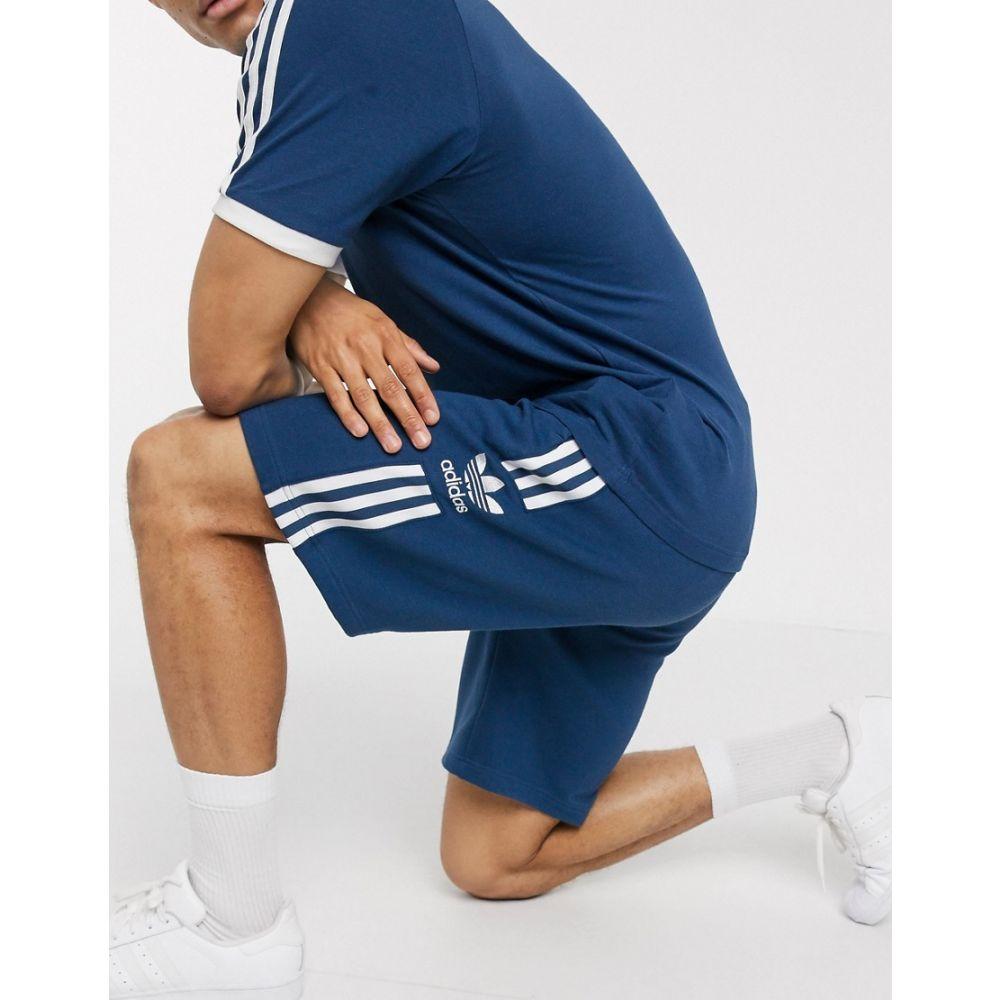 アディダス adidas Originals メンズ ショートパンツ ボトムス・パンツ【lock up shorts in navy】Ny - navy