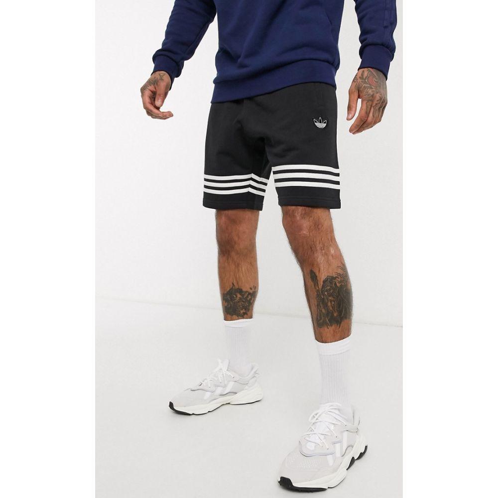 アディダス adidas Originals メンズ ショートパンツ ボトムス・パンツ【shorts in black】Bk - black