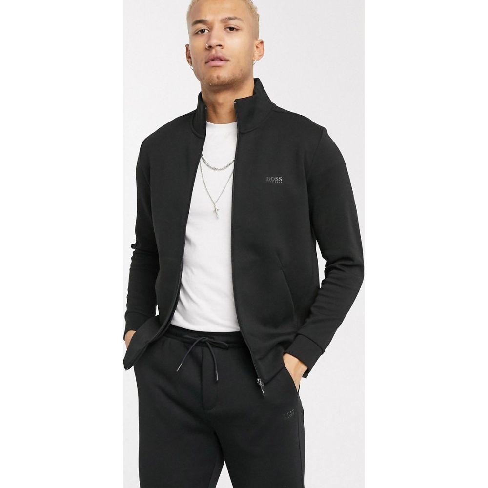 ヒューゴ ボス BOSS Athleisure メンズ ジャージ アウター【Skaz track jacket in black】Black