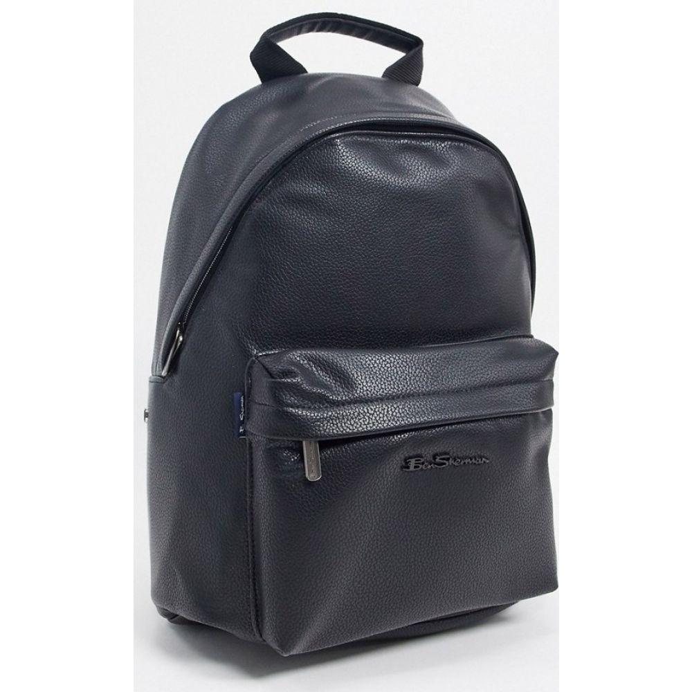 ベンシャーマン Ben Sherman メンズ バックパック・リュック バッグ【backpack】Black