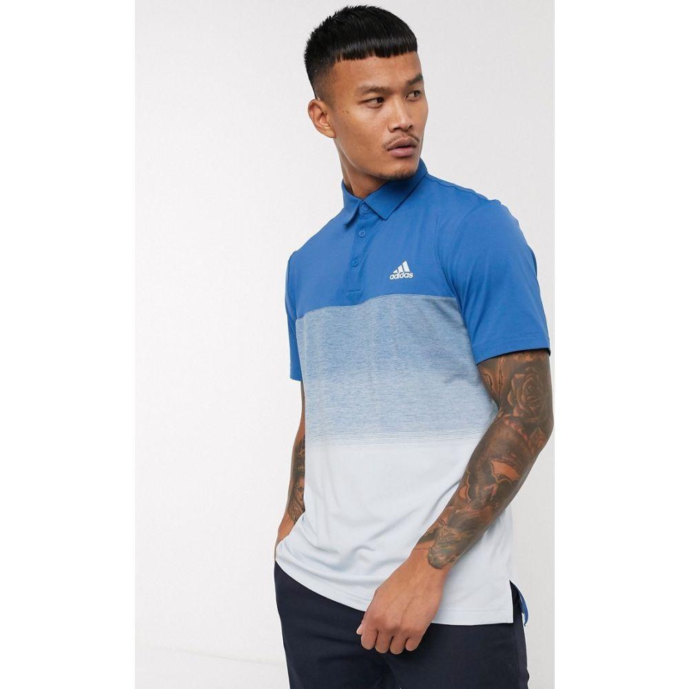 アディダス adidas Golf メンズ ポロシャツ トップス【adidas golf Ultimate 365 polo shirt in blue】Blue