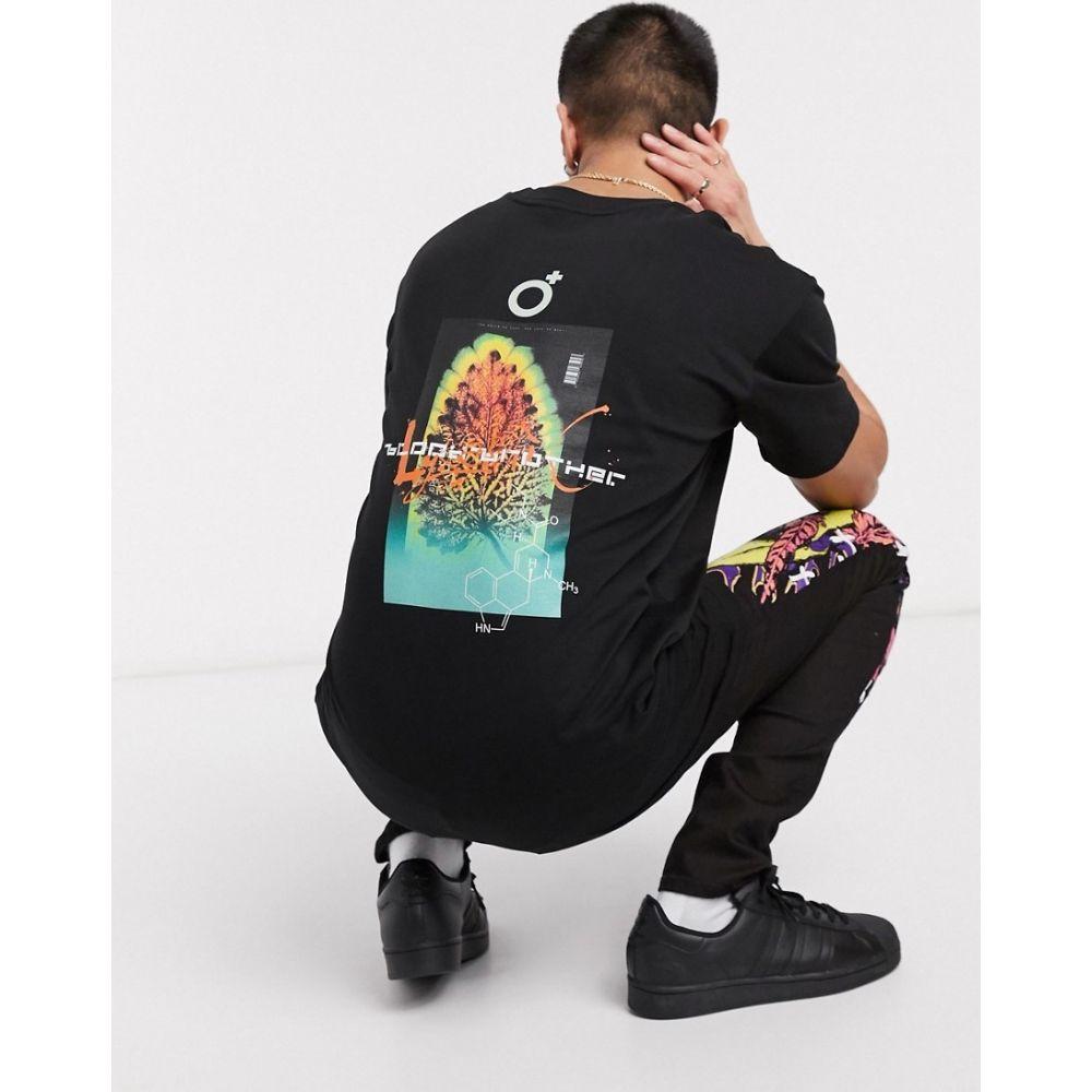 ブラッドブラザー Blood Brother メンズ Tシャツ トップス【printed t-shirt in black】Black