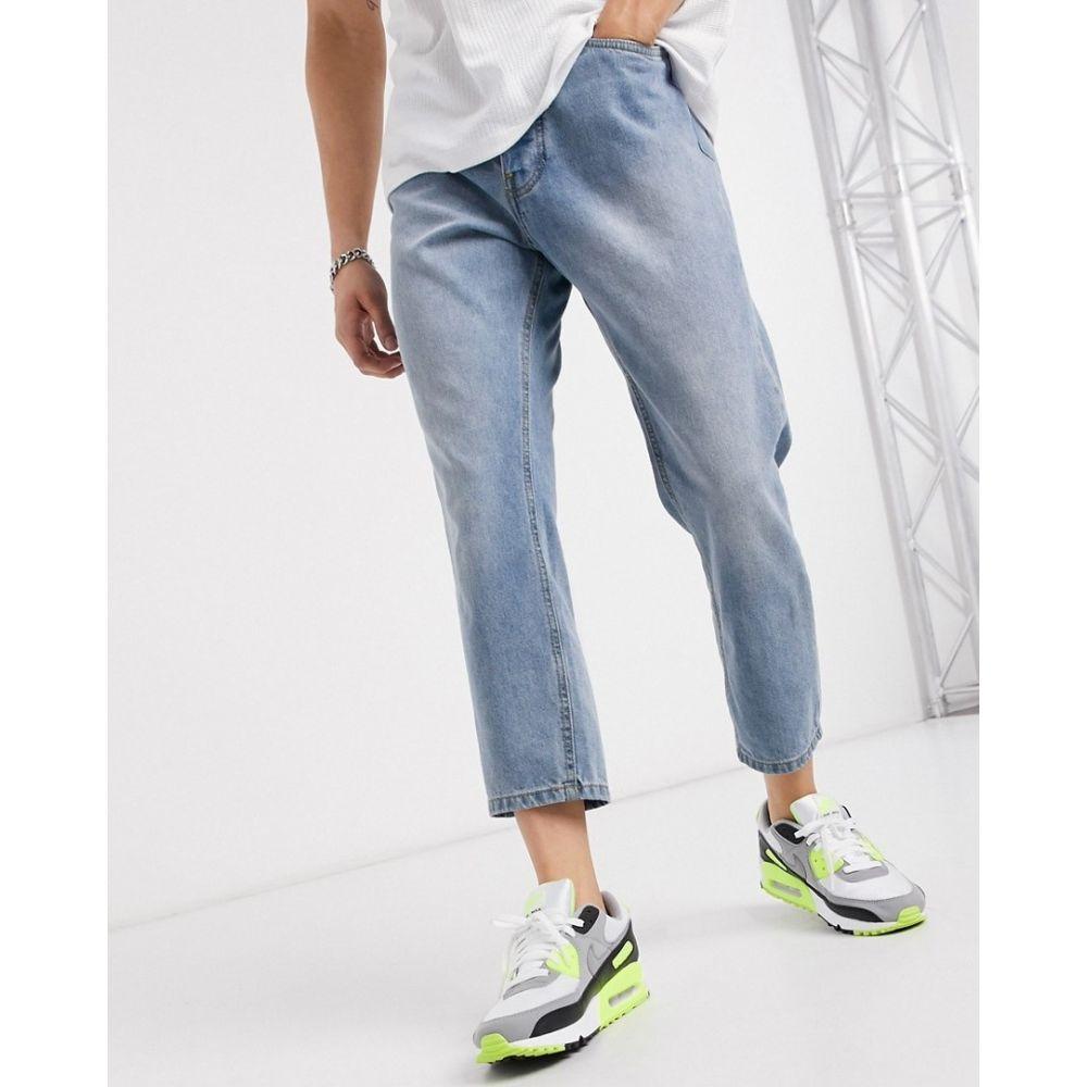 ニッチェ ロンドン Nicce メンズ ジーンズ・デニム ボトムス・パンツ【straight leg jeans in blue】Blue