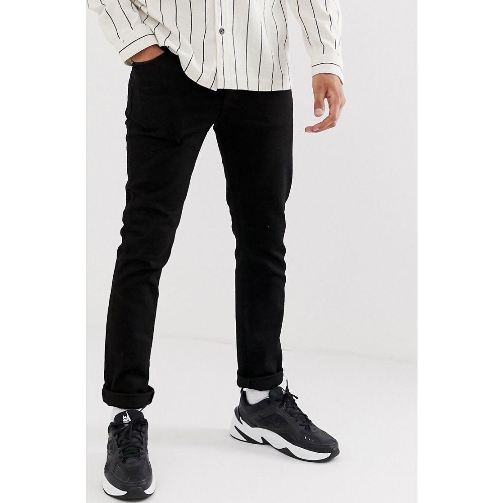 トップマン Topman メンズ ジーンズ・デニム ボトムス・パンツ【slim jeans in black】Black