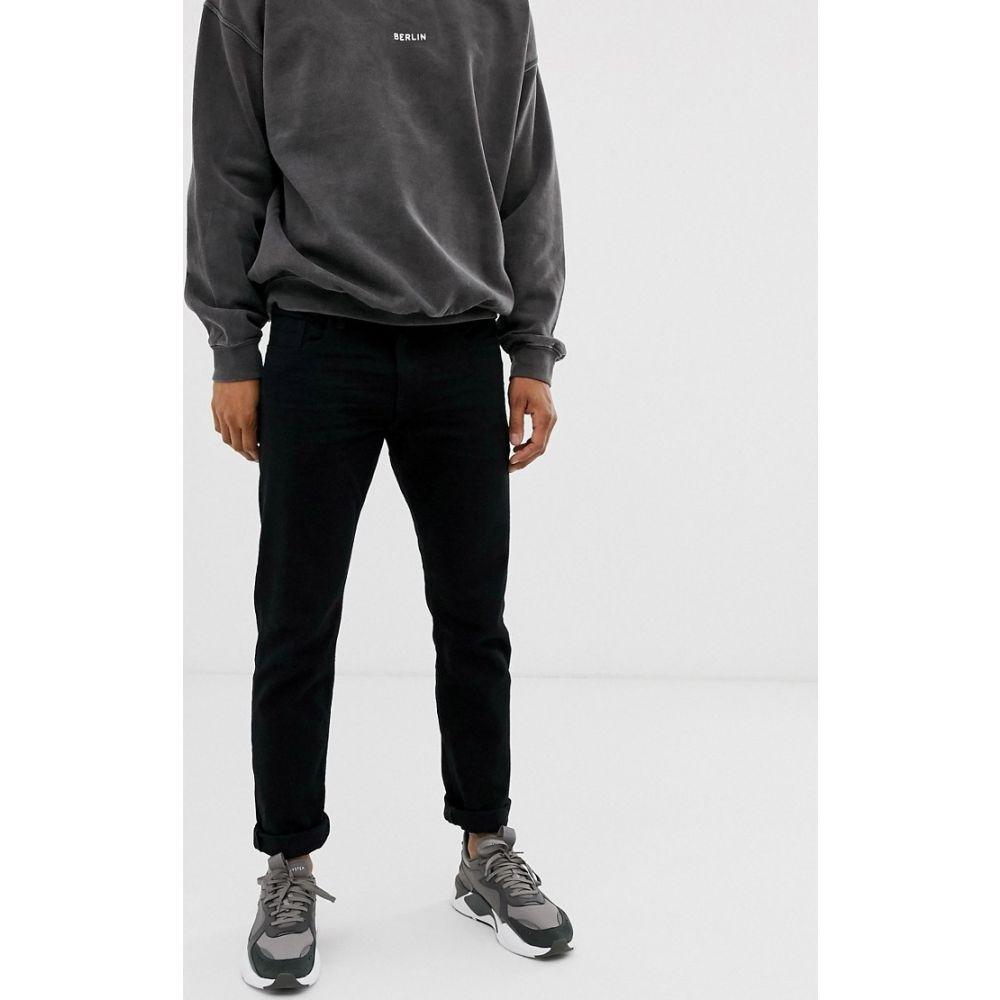 エスプリ Esprit メンズ ジーンズ・デニム ボトムス・パンツ【Slim fit jeans in black】Black
