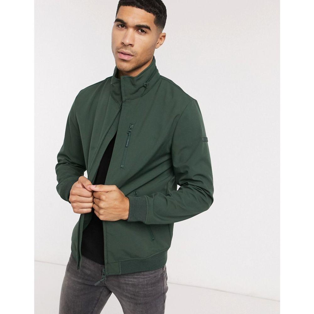 エスプリ Esprit メンズ ジャケット アウター【technical jacket in khaki】Green
