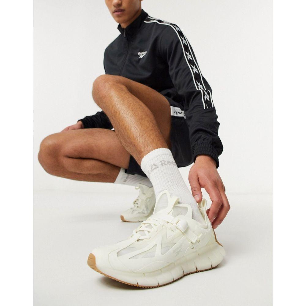リーボック Reebok メンズ スニーカー シューズ・靴【Zig Kinetica trainers in white】White