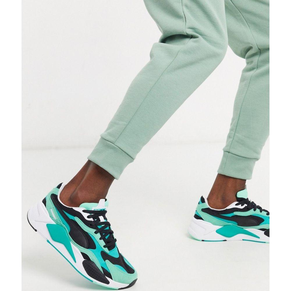 プーマ Puma メンズ スニーカー シューズ・靴【RS-X3 trainers in green】Green