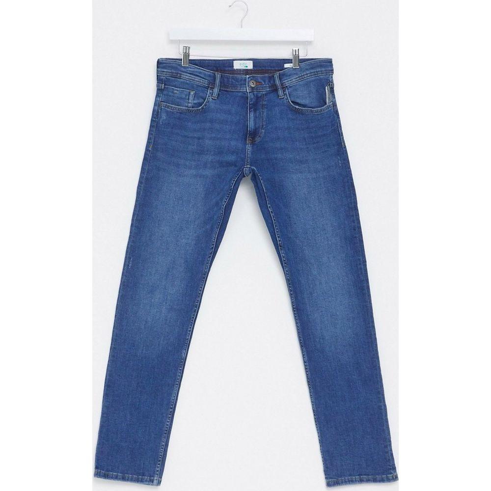 エスプリ Esprit メンズ ジーンズ・デニム ボトムス・パンツ【slim fit jeans in mid wash blue】Blue