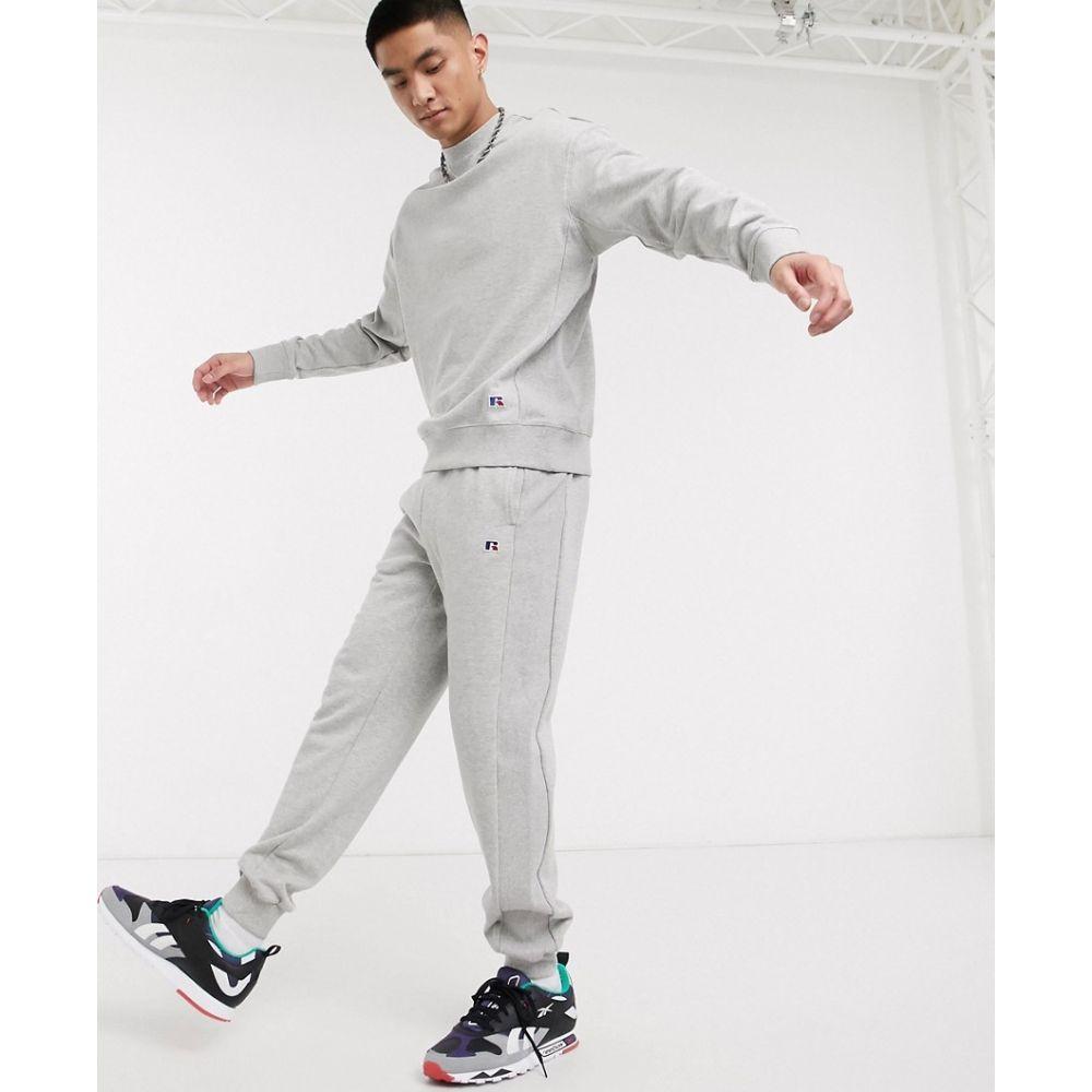 ルッセルオーセンティック Russell Athletic メンズ ジョガーパンツ ボトムス・パンツ【Ernie cuffed joggers in grey】Grey