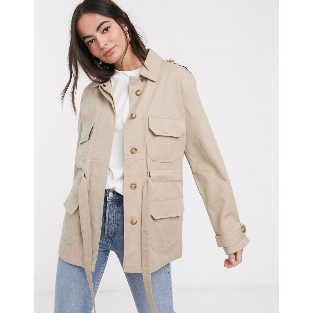 フレンチコネクション French Connection レディース ジャケット アウター【utility jacket in beige】Beige
