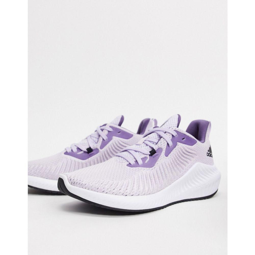 アディダス adidas performance レディース ランニング・ウォーキング シューズ・靴【adidas Running alphabounce 3 trainers in purple】Purple