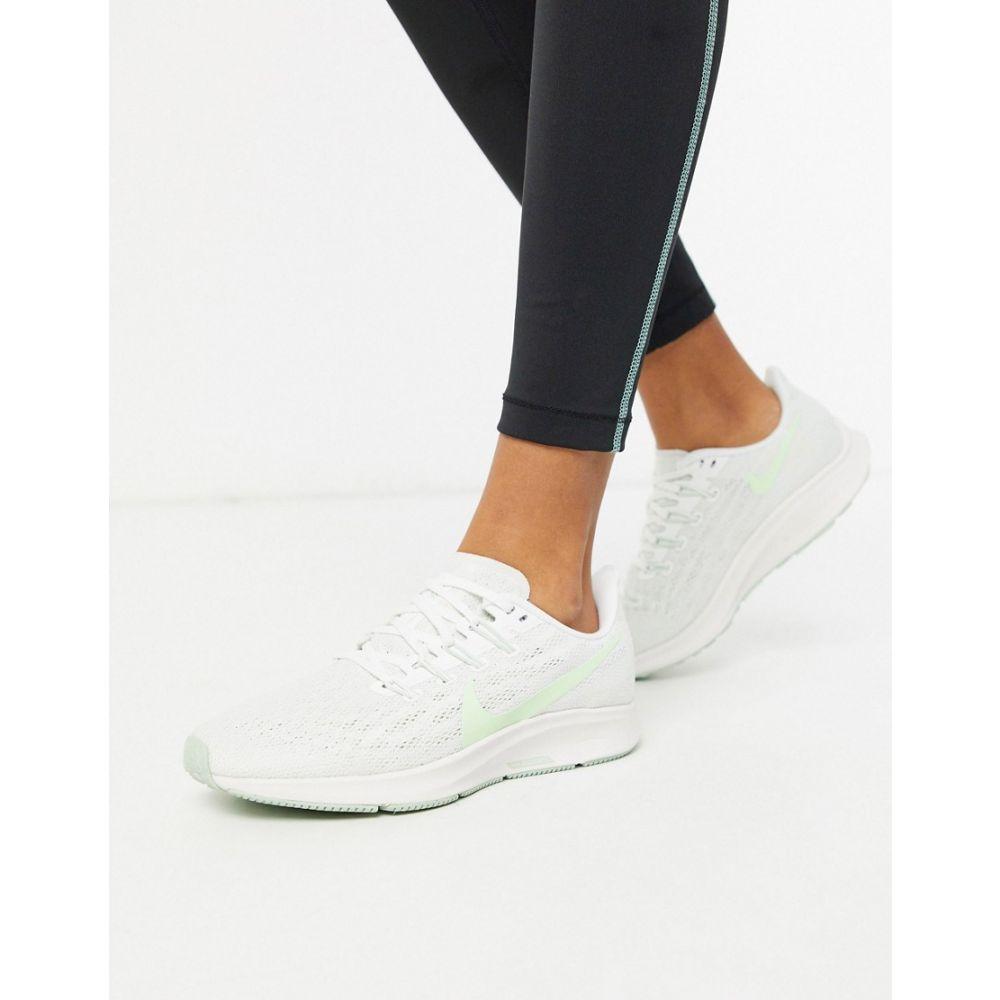 ナイキ Nike Running レディース ランニング・ウォーキング エアズーム シューズ・靴【Air Zoom Pegasus 36 in green and white】Green
