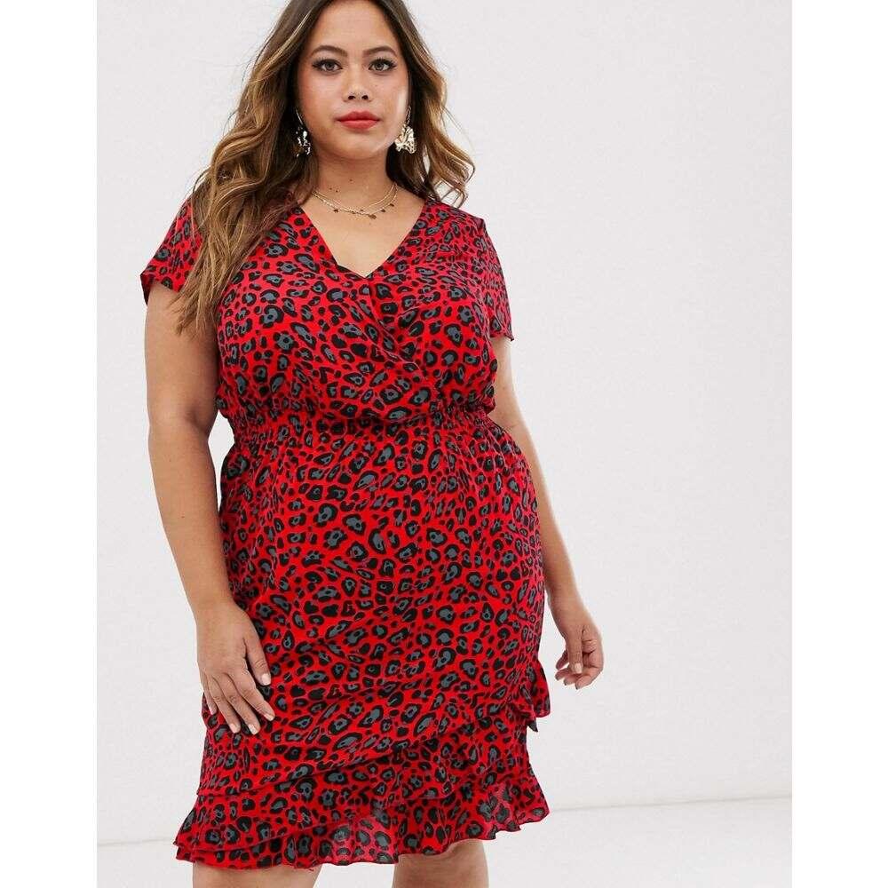 ココ Koko レディース ワンピース ワンピース・ドレス【Leopard Print Dress】Leopard