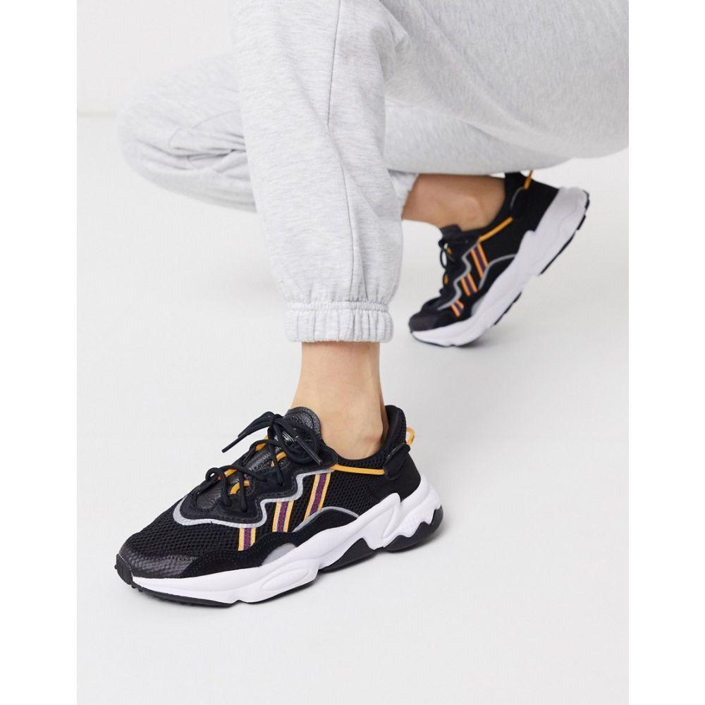 アディダス adidas Originals レディース スニーカー シューズ・靴【Ozweego in black and orange】Black/white/flas