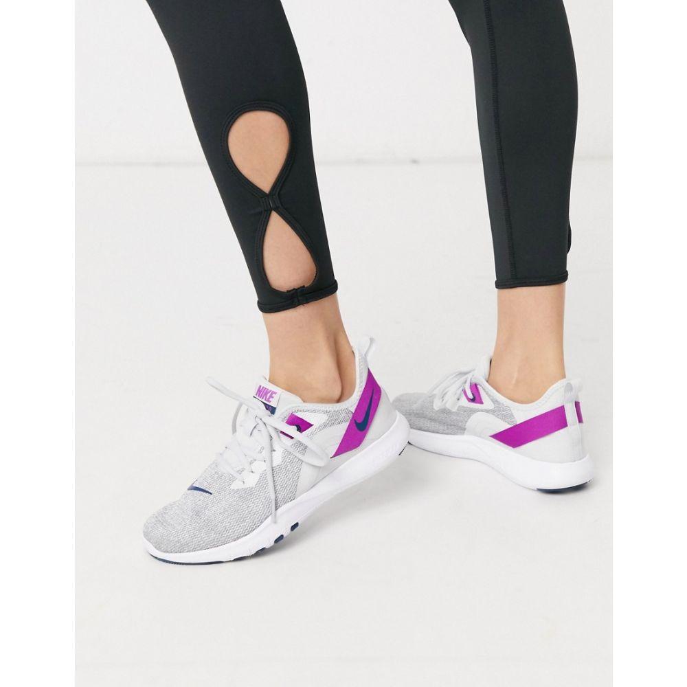 ナイキ Nike Training レディース スニーカー シューズ・靴【Flex trainers in grey】Grey