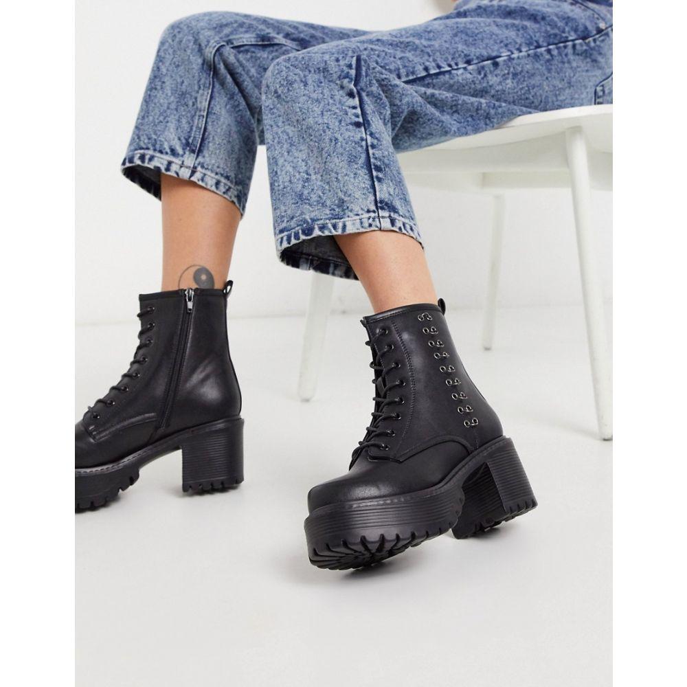 コイフットウェア Koi Footwear レディース ブーツ ショートブーツ シューズ・靴【Necron vegan ankle boot with metal detail in black】Black