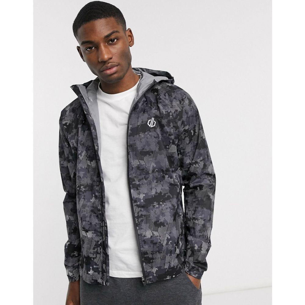 デア トゥビー Dare 2b メンズ ジャケット アウター【Dare 2B highlite jacket】Black linear camo