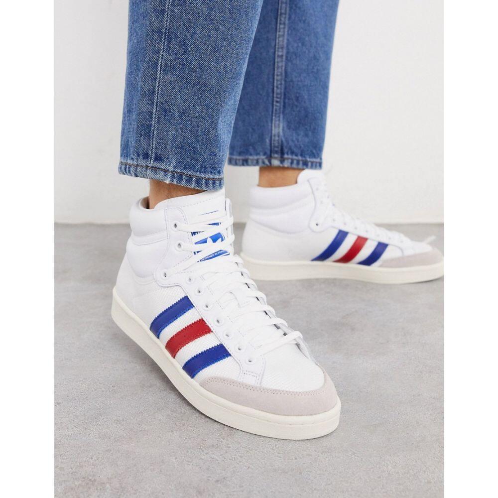 アディダス adidas Originals メンズ スニーカー シューズ・靴【Americana hi top trainers in white】Wh1 - white 1