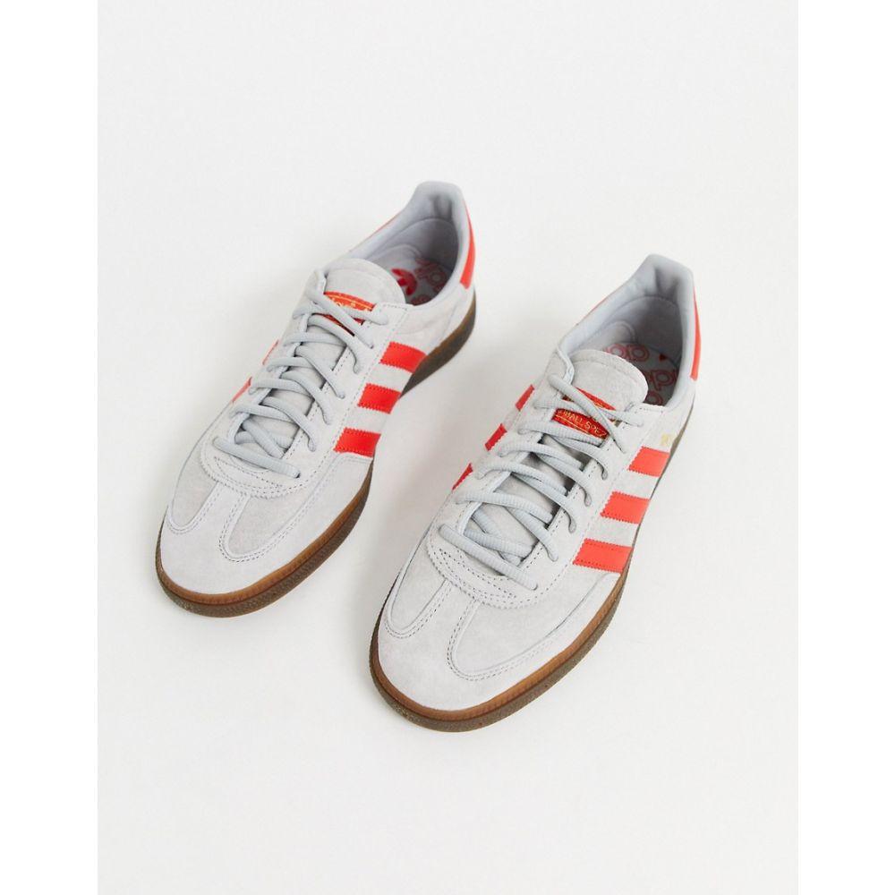 アディダス adidas Originals メンズ スニーカー シューズ・靴 handball spezial trainers in grey Gy1grey 1zSpqMVU