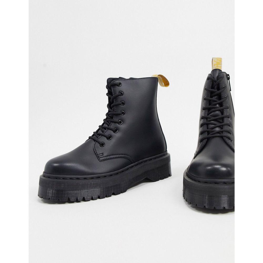 ドクターマーチン Dr Martens メンズ ブーツ シューズ・靴【Vegan Jadon Platform boots in black】Black
