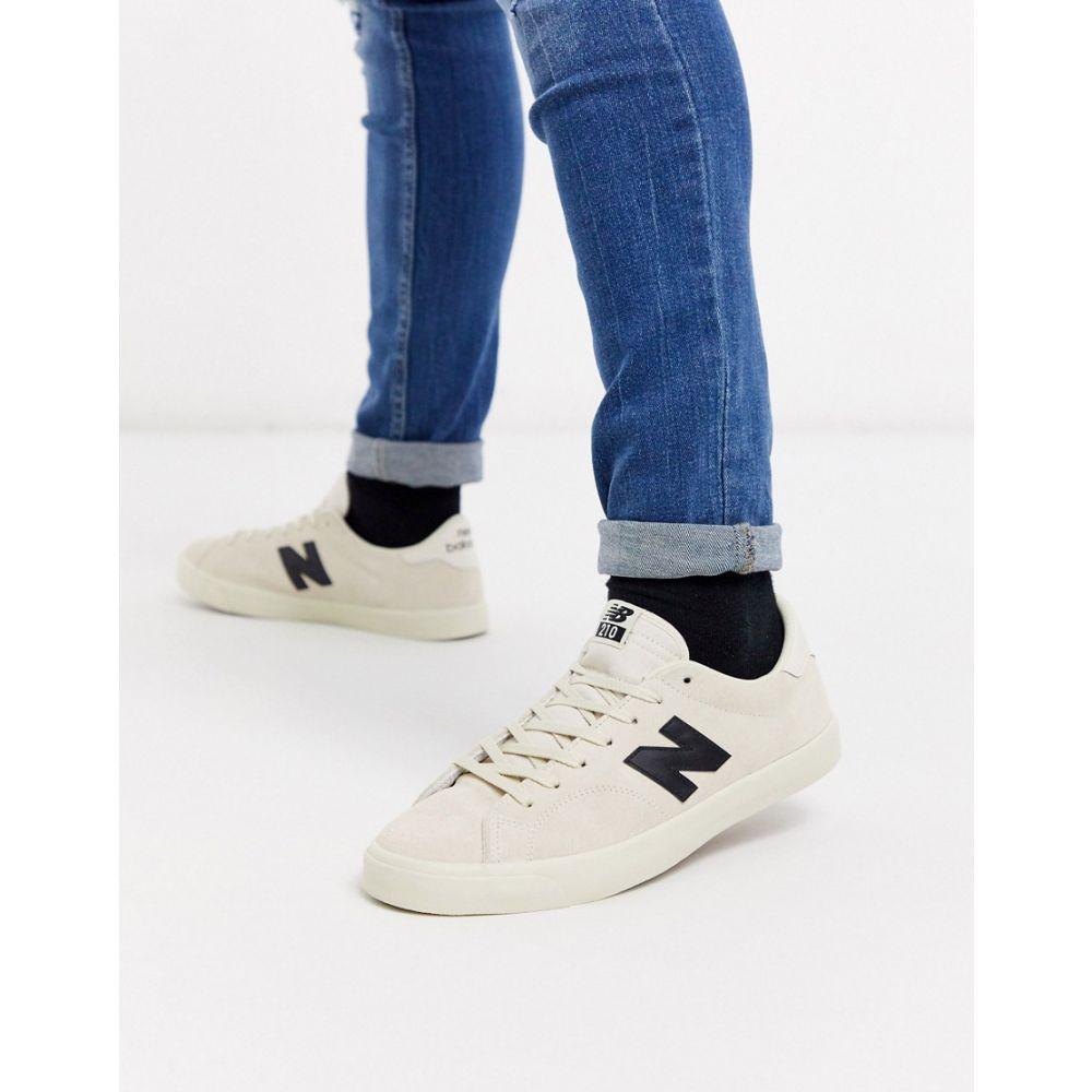 ニューバランス New Balance メンズ スニーカー シューズ・靴【210 trainers in beige】Beige