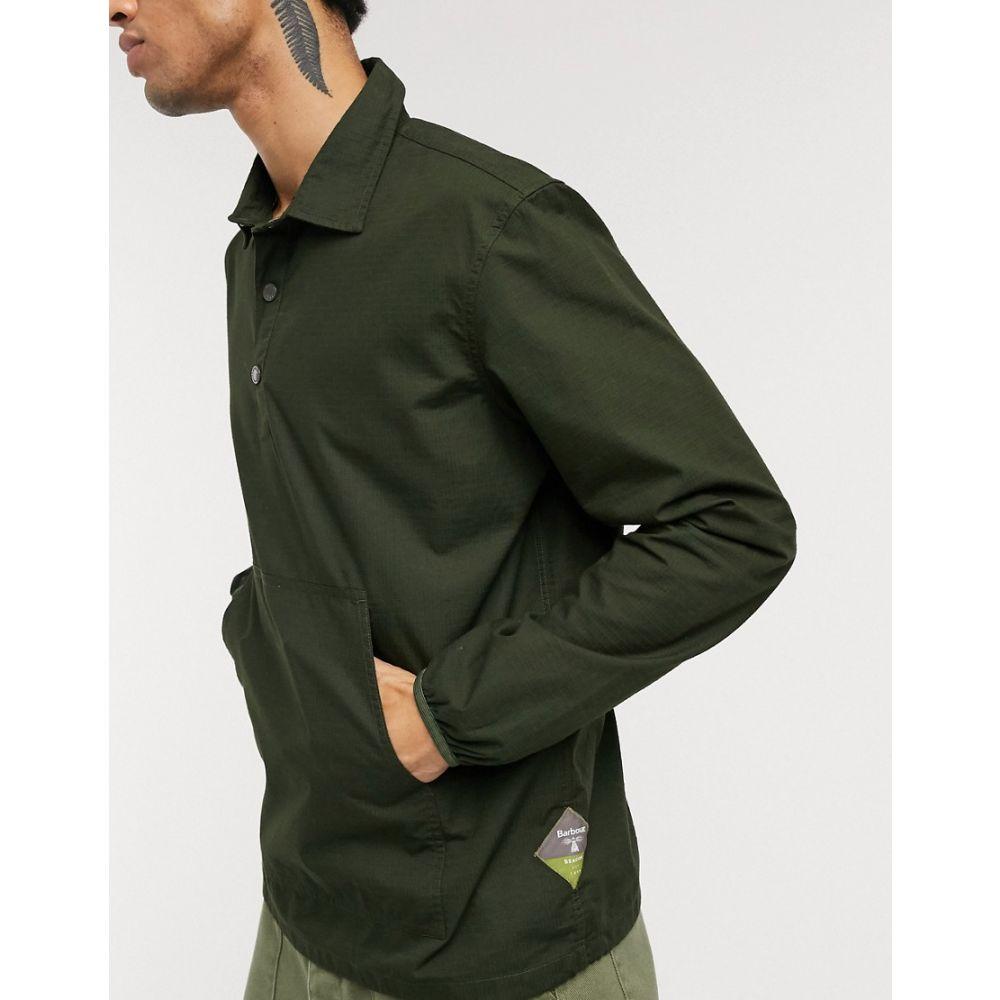 バブアー Barbour Beacon メンズ シャツ トップス【ripstop overhead shirt in green】Green