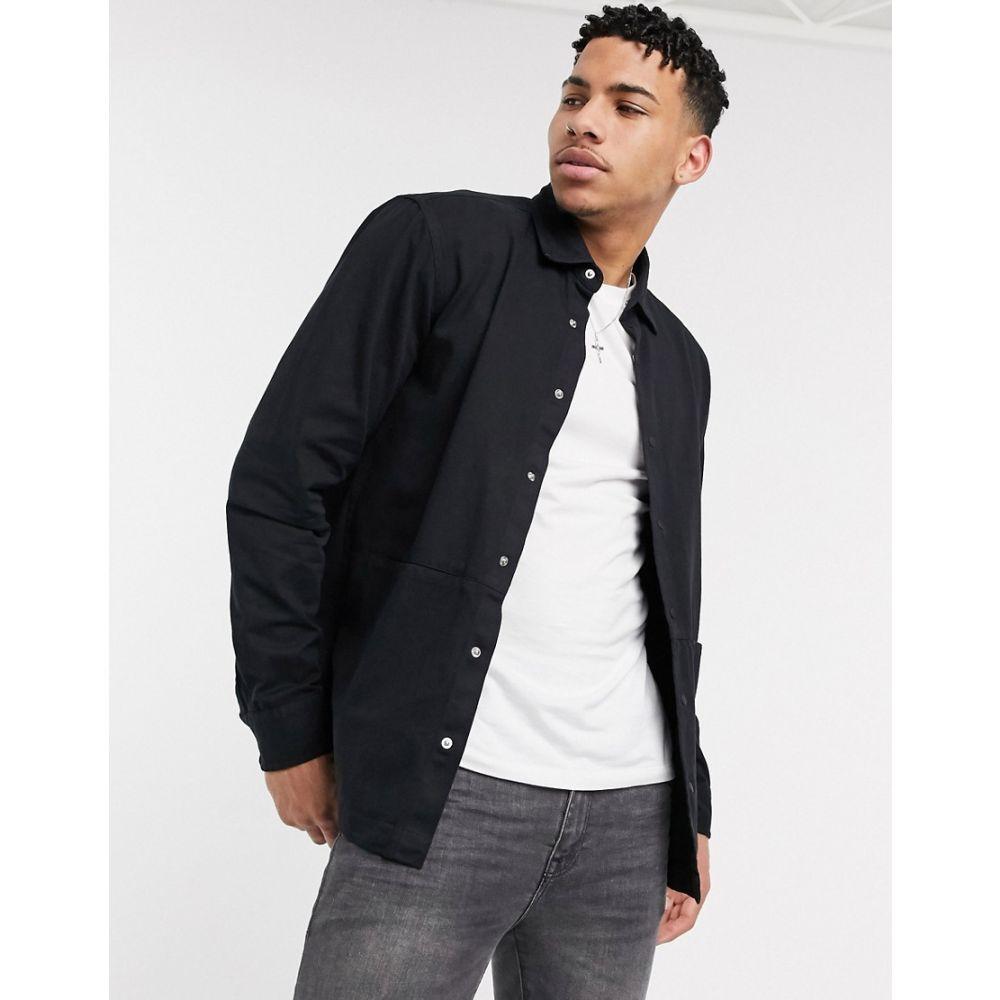 バブアー Barbour International メンズ シャツ オーバーシャツ トップス【Endo overshirt in black】Black